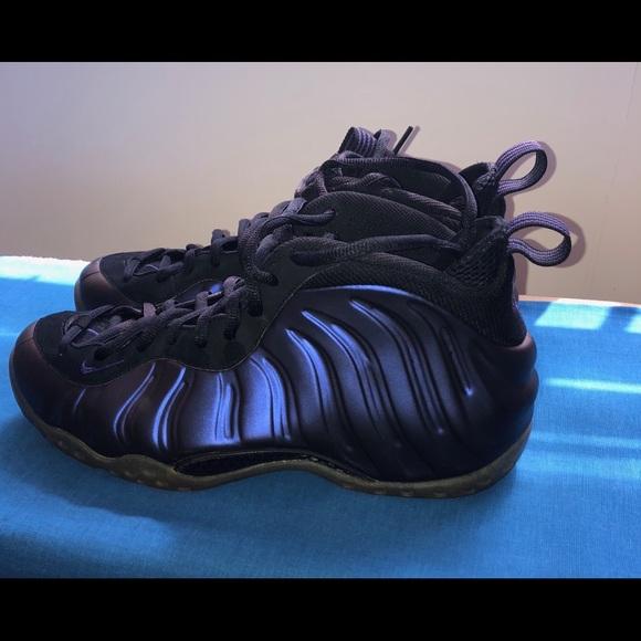 timeless design 4706a 016f9 Nike Foamposites size 10.5 color eggplant